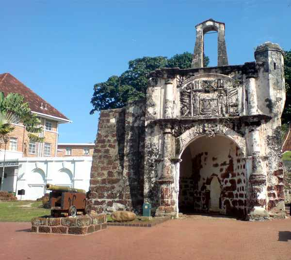 A'Famosa Fort in Malacca